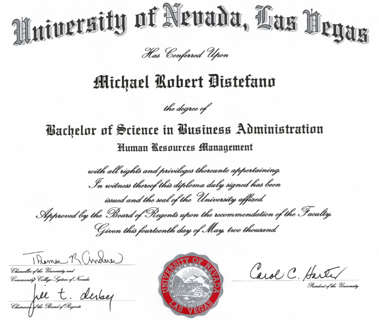 Graduate Degree Human Resources Graduate Degree